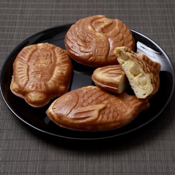 蜜芋たい焼き(鯛鶴亀3個セット)