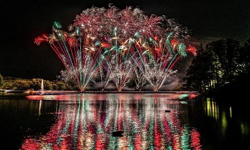 りんどう湖花火大会