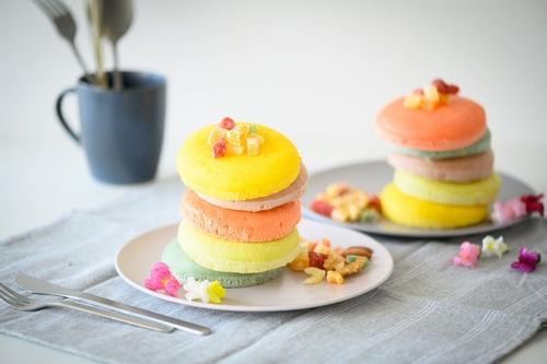 Happy Color Pancakes
